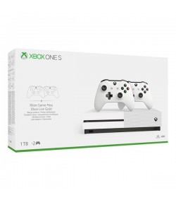 Microsoft Κονσόλα Xbox One S 1TB & 2nd Controller White