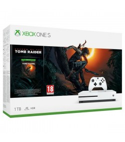 Microsoft Κονσόλα Xbox ONE S 1 TB + Shadow Of The Tomb Raider + 2 Παιχνίδι  ΔΩΡΟ Gears of War 4 XBOX ONE