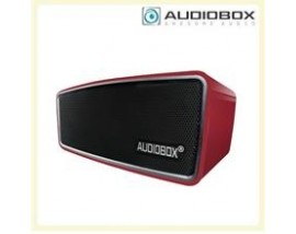 AUDIOBOX BLUETOOTH PORTABLE SPEAKER METAL RED