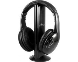 """MEDIATECH WIRELESS HEADPHONES """"SIRIUS"""" WITH FM AND MIC IN RECEIVER"""