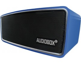 AUDIOBOX BLUETOOTH PORTABLE SPEAKER METAL BLUE
