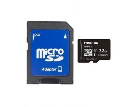 MICRO SDHC TOSHIBA HIGH SPEED UP TO 40MB/S 32GB CLASS 4