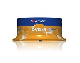 Verbatim DVD-R 120' 4.7GB 16x Cake Box x25 (43522)