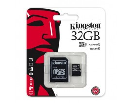 Kingston Micro Secure Digital HC 32GB Class 10 + SD Adapter