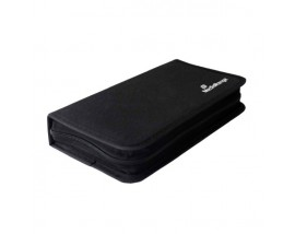 MediaRange Media Storage Wallet for 96 Discs Nylon Black