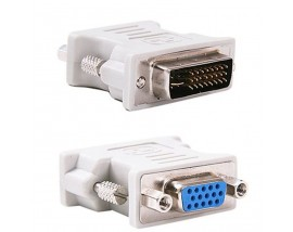 PT Adapter VGA 15pin female σε DVI-I 24+5 pin male