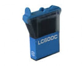 COMPATIBLE NEW Ink Brother LC-600C Cyan,13ml CB600C
