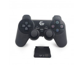 GEMBIRD ΧΕΙΡΙΣΤΗΡΙΟ GAMEPAD DUAL VIBRATION PS2/PS3/PC