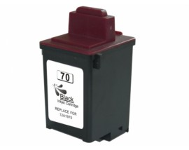 COMPATIBLE NEW No 70 Ink Lexmark 12AX970E Black,25ml  CL70XLB