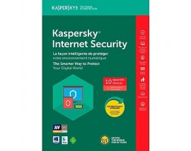 Kaspersky internet security ΕΛΛΗΝΙΚΟ multi-device (10 άδειες,1 έτος)