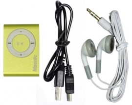 MSONIC MP3 Player MM3610Y, Portable με Micro SD Gold
