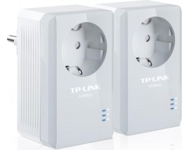 TP-LINK TL-PA4010PKIT AV600 POWERLINE ADAPTER WITH AC PASS THROUGH STARTER KIT