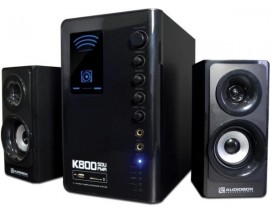 AUDIOBOX MULTIMEDIA SPEAKER K800 SDU FMR BLACK