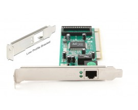 PT Κάρτα Επέκτασης PCI σε Gigabit LAN, RTL8169SC, Low Profile