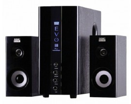 SONICGEARS EVO3 PRO MULTIMEDIA AUDIO SPEAKERS 2,1 BLACK
