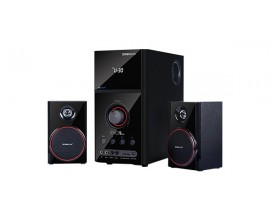 SONIC GEARS BLUETOOTH MULTIMEDIA AUDIO SPEAKERS 2,1 BLACK