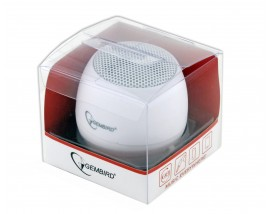 GEMBIRD PORTABLE SPEAKER WHITE