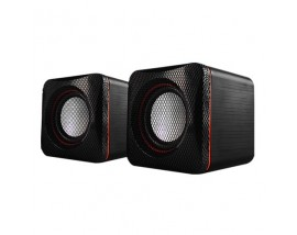 AUDIOBOX U-CUBE USB POWERED 2.0 SPEAKERS B.FESTIVE RED