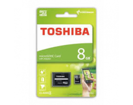 MICRO SDHC TOSHIBA HIGH SPEED 8GB