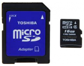 MICRO SDHC TOSHIBA HIGH SPEED 16GB,323327