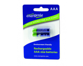 ENERGENIE RECHARGEABLE AAA BATTERIES 1000mAh