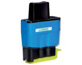 COMPATIBLE NEW Ink Brother LC-900C Cyan,12ml CB900C