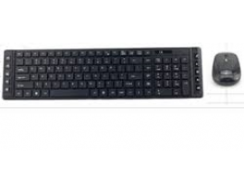 HVC Wireless Multimedia Keyboard & Mouse Combo KW-76